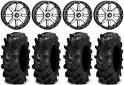 Sti Hd9 Bdlk 18 Wheels Mh 6+1 34 Cryptid Tires Can-am Defender