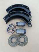 Wwii Dodge Wc 1/2 Ton 4x4 G505 New Rear Axle Brake 14 Shoes Cylinders Seal Set