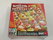 Tdc The World's Most Difficult Jigsaw Puzzle Killer Cupcakes 500 Pieces