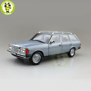 1/18 Benz 200t 1982 Norev 183736 Diecast Model Toys Cars Boys Gifts Silverblue