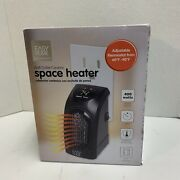 Easy Home Wall Outlet Ceramic Space Heater Quickandeasy Heat Digital Display New