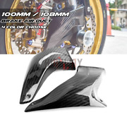 108mm Carbon Fiberandnbspcaliper Air Duct Brake Cooling For For Yamaha Yzf-r1m 15-20