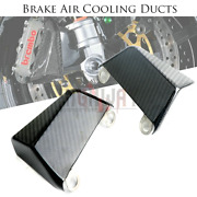 100mm Carbon Fiber Brake Cooling Air Duct Channel For Bmw Bmw Hp4 Race 17-19