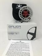 Bauer Sst 4 Fly Reel Silver/red 3/4/5 New