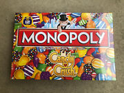 Monopoly Candy Crush - King Hasbro 2018 - Rare Brand New, Sealed