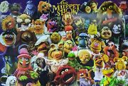 The Muppet Show 24x36 Poster Signed Autographed Whitmire Gilchrist Jsa Cert Coa