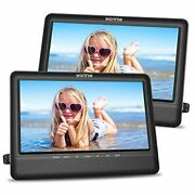 10.5and039and039 Dual Screen Dvd Player Portable Headrest Cd Players For Kids 10.5 Inch