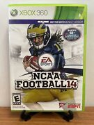 🔥ncaa Football 14 Xbox 360, 2013 With Case And Inserts Vg Tested🔥