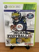 🔥very Nice Ncaa Football 14 Xbox 360, 2013 Fully Complete W/ Inserts Vg🔥