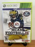 🔥ncaa Football 14 Xbox 360, 2013 Fully Complete Very Good Fast Shipping🔥