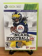 🔥ncaa Football 14 Xbox 360, 2013 W/ Inserts Vg Tested - Fast Shipping🔥
