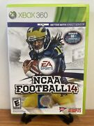 🔥ncaa Football 14 Xbox 360, 2013 Fully Complete Excellent Fast Shipping🔥
