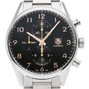 Free Shipping Pre-owned Tag Heuer Caliber 1887 Chronograph Car2014.ba0799