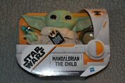 Star Wars 7 Mandalorian The Child Talking Plush With Frog And Bowl