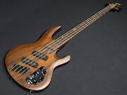 ltd B-1004ms Special Edition Multi-scale Natural Satin Electric Bass Guitar