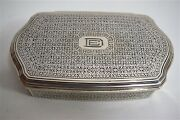 Boite Argent Massif And Co Sterling Silver 925 Orientaliste Art Deco Usa