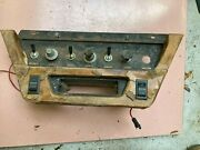 Mystery Wood Center Console And Window Switches Believed Vanden Plas Or Daimler