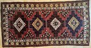 Gorgeous Antique Four Medallion Kazak Caucasian Rug 4and0396 By 8and03910