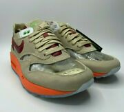 New Nike X Clot Air Max 1 And039kiss Of Deathand039 2021 Shoes Menand039s Size 8.5 Dd1870-100