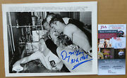 Detroit Tigers Denny Mclain Signed Pennant Clincher Wire Photo 9-17-1968 - Jsa