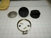 Mcculloch Muffler Round 2 Piece With Clamp And Baffle Screen Cp125 Oem Nos
