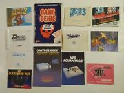 Nintendo Nes Instruction Booklets Game Manuals Lot Of 12 Manuals Only