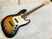 Fender S/n Z6122125 4 Strings Dot Inlays Jazz Electric Bass Guitar Made In Usa