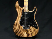 Edwards By Esp E-snapper-as / M Burner Spalted Maple Top Electric Bass Guitar