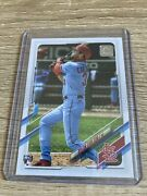 2021 Topps Dylan Carlson Action Variation Sp Rc 285