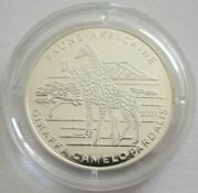 Central African States 1000 Francs 2004 Football World Cup In Germany Silver