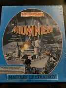 Midwinter Computer Strategy Dos Game Vintage And Sealed Rare