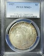 1927-p Peace Dollar Pcgs Ms62+ Dollar Prices Are Up