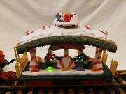 New Bright Animated Holiday Express Car - Candy Dancer Car - Tested 387