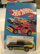 Hotwheels And03957 Chevy Black/yellow Blue Interior 1976 Bw Unpunched Mint Rare