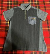 Mcdonalds Womens Sz Small Fast Food Employee Embroidered Polo Shirt New C8