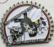 Kiss Seabee The Fox Eric Carr Killers Military Challenge Coin