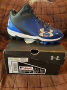 Under Armor Young Boys Baseball Spikes-size 1 Youth