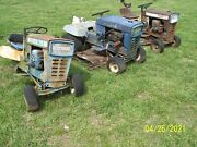 Ford 75 Garden Tractors Lot Of 3 For Parts Or Restore