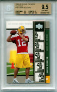 Aaron Rodgers 2005 Upper Deck Platinum Rare 1720 Odds Rookie Bgs 9.5 10charity