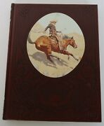 1974 The Cowboys Old West Series Time Life Book Vintage Faux Leather Hard Cover