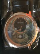 Beautiful Ladies Wrist Watch With Birds And Nest Theme - New With Box