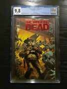 The Walking Dead Deluxe 1 Ruby Red Foil Cover Variant Cgc 9.8