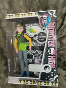 Monster High Jackson Jekyll With Pet Crossfade 1st Wave New Mint Sealed