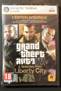 Gta 4 Grand Theft Auto Iv The Complete Edition [ French Edition ] Pc / Dvd New