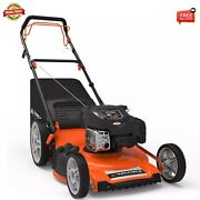 Yard Force 22 Self-propelled 3n1 Mower With Briggs And Stratton 163cc Engine