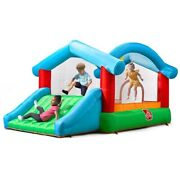 Bouncer Inflatable Bounce House Jumper Slide Outdoor Fun Kids Play Yard