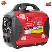 A-ipower Digital Enclosed Inverter Dual Fuel Generator Free Fast Shipping