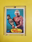 1985 Topps Wwf Hulk Hogan 16 Rookie Card - Nice Card - See Pictures