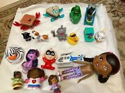 Lot Of Small Toys Doc Mcstuffins, Fisher Price, Disney, Mcdonald's Misc 18 Pc