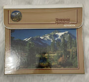 Vintage 80s Trapper Keeper Mead Binder Mountain Scene Photography 296096
